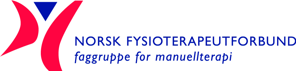 Logo for Norsk Fysioterapeutforbunds faggruppe for manuellterapi