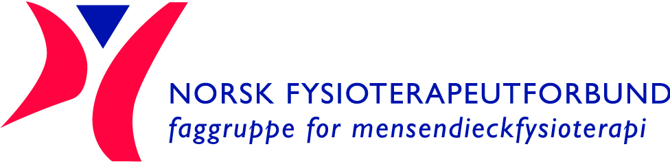 Logo for Norsk Fysioterapeutforbunds faggruppe for mensendieckfysioterapi